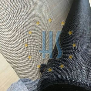Black Color Dust Proof Fiberglass Fire Wire Netting pictures & photos
