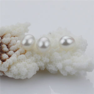 Snh 7.5-8.5mm Drop White Freshwater Pearl Loose Beads pictures & photos