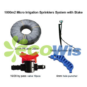 1000sqm Micro Sprinkler Irrigation System with Stake (HT1129) pictures & photos