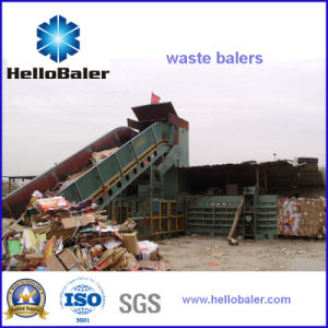 Hellobaler 20t/H Capacity Automatic Baling Machine with Conveyor (HFA13-20) pictures & photos