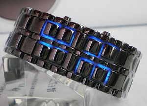 2015 Promotional New Design Colorful Lava Plastic Wrist Watch