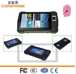 Manufacturer of Rugged Waterproof Shockproof Android 7 Inch Touch Screen Biometric Fingerprint Scanner pictures & photos