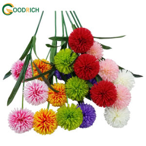 3heads Ball Chrysanthemum Fake Flower pictures & photos