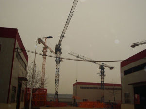 Flattop Tower Crane with Competitive Price pictures & photos