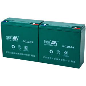 E-Bike Battery 12 Volt Lead Acid Battery Pack in Rechargeable Batteries 6-Dzm-20