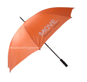 Gift Golf Umbrella with Orange Color (OCT-G14AD) pictures & photos
