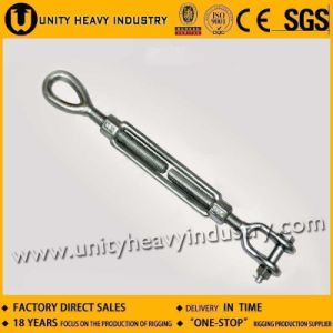 Us Type Drop Forged DIN1480 Turnbuckle with Jaw & Jaw pictures & photos