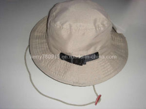 Valuable Poplin Ribbon Sun Hat/ (DH-BF483) pictures & photos
