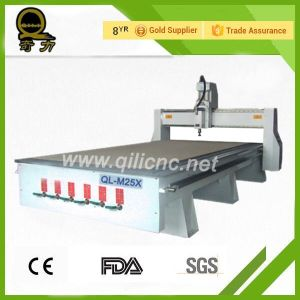 Furniture Woodworking Atc 8PCS Auto Tool Ahanger CNC Router Ql-M25 pictures & photos