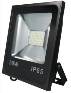 Rectangular Slim LED Floodlight Lamp Die-Casting Aluminium Body Tempered Glasses 50W pictures & photos