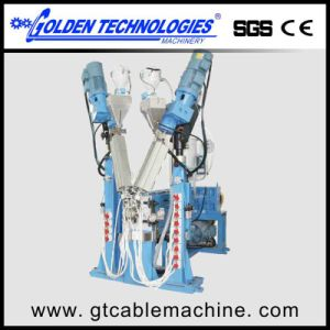 Physical Foam Wire Extrusion Machine pictures & photos