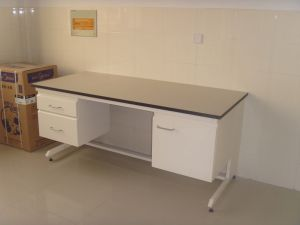 New Type All Steel Side Bench Lab Furniture (JH-SL004) pictures & photos
