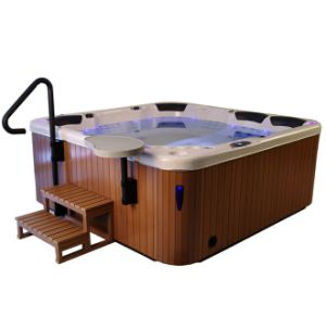 162 Jets 3 Lougne Outdoor Whirlpool Massage Bathtub SPA Jacuzzi pictures & photos