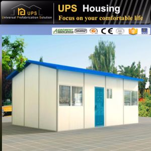 Good Heat Insulation Long Service Time Modern Design EPS Prefab House pictures & photos