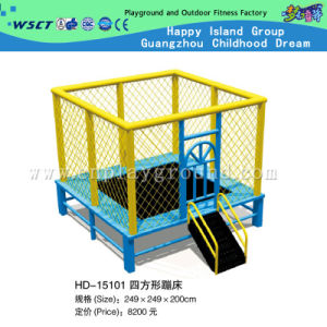 Square Funny Trampoline Playground for Kids Play (HD-15101) pictures & photos