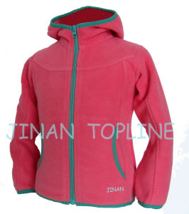 Children Microfleece Hoody Leisure Softshell Comfortable Jacket pictures & photos