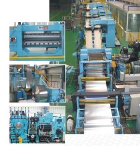 CNC Thin Plate Cut to Length and Slitting Line pictures & photos