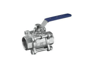 3 Piece Body Thread Ends Ball Valve