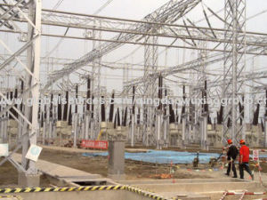 110 Kv Steel Power Substation Structure pictures & photos