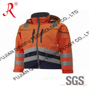 Winter Safety Jacket with Reflective (QF-540) pictures & photos