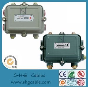 5-1000MHz 1 Way Outdoor CATV Taps Directional Coupler (DCTR1W) pictures & photos