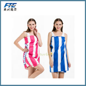 Water Absorption Speed Dry Beach Towel/Bath Towel pictures & photos