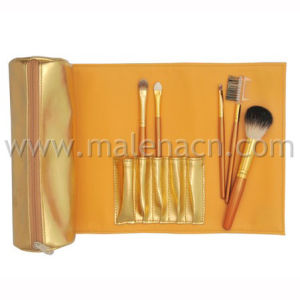 Golden 5PCS Makeup Brush for Promotion pictures & photos