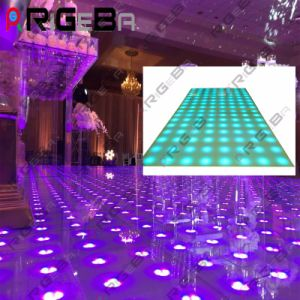 Super Slim 1*1m LED Digital Dance Floor for Stage DJ Light pictures & photos