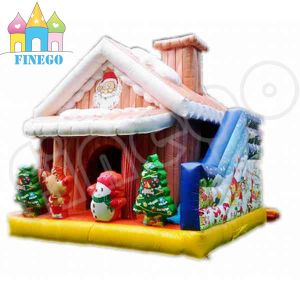 Inflatable Christmas Decoration Inflatable Cabin for Santa Claus pictures & photos
