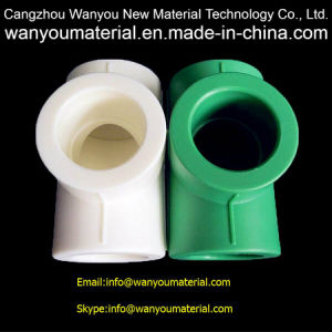 Plastic Pipe Fitting - PPR Pipe Fitting - Cross Made in China