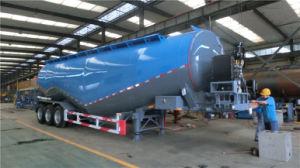 3 Axles 55cbm Cement Tanker Semi-Trailer pictures & photos
