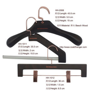 Luxury Wooden Garment Hanger pictures & photos