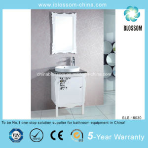 Printing Solid Wood The Newest Bathroom Vanity (BLS-16030) pictures & photos