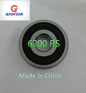 High Quality Made in China Gaoyuan Deep Groove Ball Bearing (6200 RS/ZZ) pictures & photos