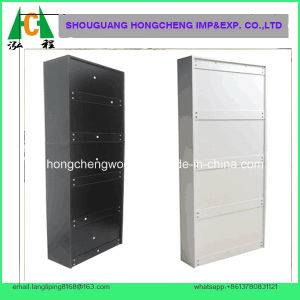Black Color Mirrored Shoe Cabinet pictures & photos