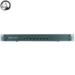 Atom D525 Firewall Server 1u 6 LAN Rackmount Intel 82538V Gbe Excluding RAM and Storage pictures & photos