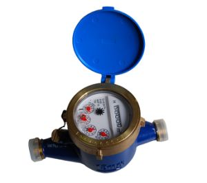 Class C R160 High Accuracy Brass Water Meter pictures & photos