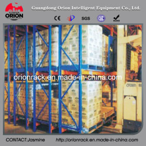 Steel Structure Double Deep Warehouse Rack Shelf pictures & photos