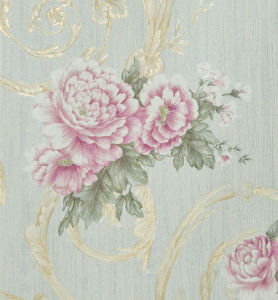 Wall Decoration Wallpaper with Cec Certificate Dh101 pictures & photos
