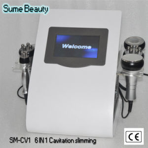 6 in 1 Ultrasonic Liposuction Cavitation Vacuum RF Photon Bio Slimming Beauty Machine pictures & photos