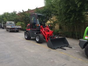 Hzm Wheel Loader 0.8 Ton Mini Loader Hot Sale in New Zealand Mini Loader pictures & photos