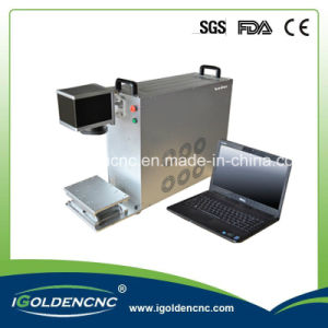 110X110 Working Area 30W Portable Fiber Laser Max Used for Metal pictures & photos