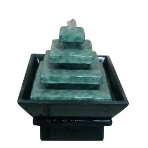 Mini 5.5 Inch Resin & Plastic Indoor Table Fountain pictures & photos