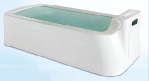 Tempered Glass Side Acrylic Rehabilitation Massage Bathtub pictures & photos
