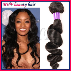 100 Human Hair Extension, Raw Cheap Malaysian Virgin Hair pictures & photos
