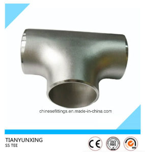 Asme B16.9 Seamless Equal Stainless Steel Tee pictures & photos