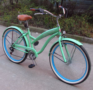 Popular High Grade Rear 7speed Beach Bicycles (FP-BCB-C037) pictures & photos