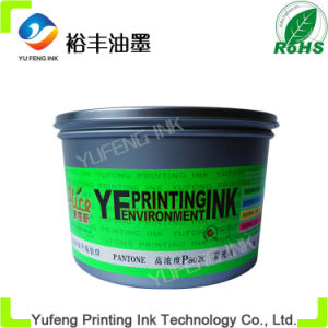 Fluorescence Ink, Eco Printing Ink and Bulk Ink, China Ink of Factory, Pantone P802c Green (Alice Brand)