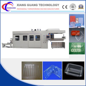 High Efficiency Output Servo Motor Plastic Thermoformed Tray Forming Machine pictures & photos