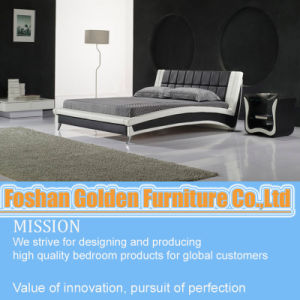 Hotel Furniture for 5 Star Double Bed Designs in Wood pictures & photos